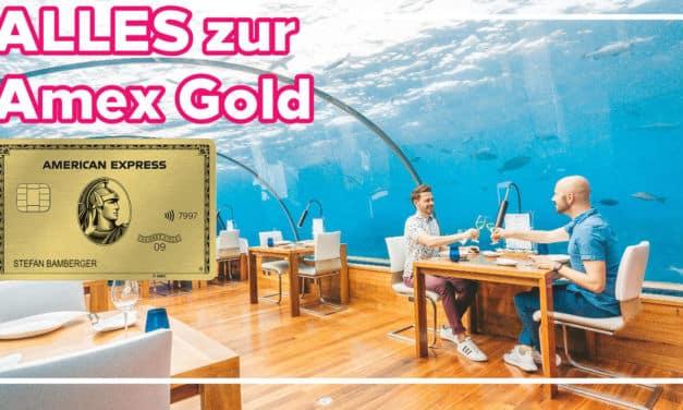 Alles, was ihr über die American Express Gold Kreditkarte wissen müsst