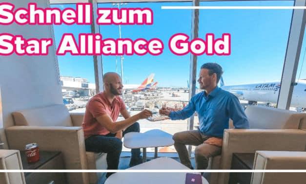 Schnelle Wege zum Star Alliance Gold Status